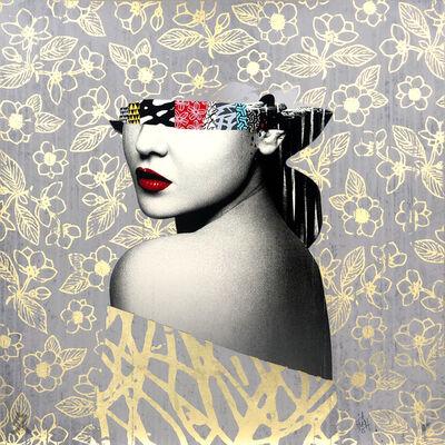 HUSH, 'Le Buste II Artist Proof 22ct Gold Leaf', 2021