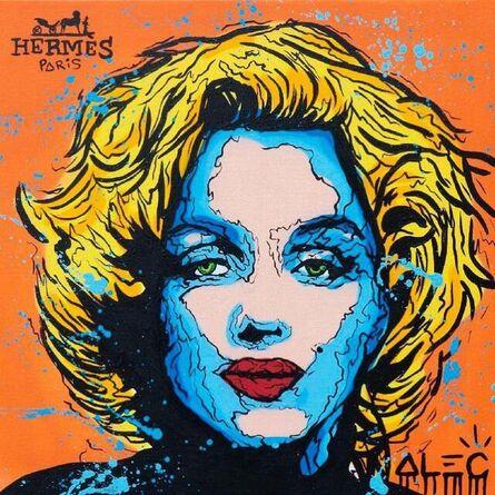 Alec Monopoly, 'Hermes Marilyn Monroe Portrait', 2021