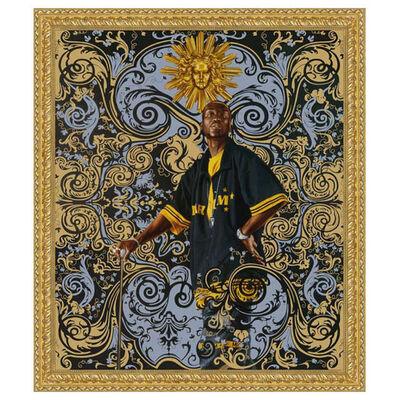 Kehinde Wiley, 'WOW Artist Beach towel', 2008