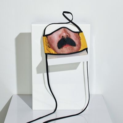"""Catherine Opie, '""""Bo from Being and Having (detail)"""" Face Mask', 2020"""
