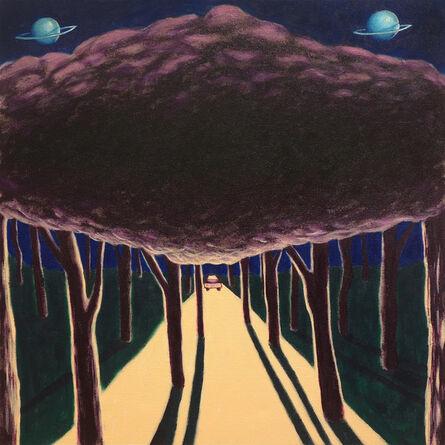Eliot Greenwald, 'Night Car (Unified Tree)', 2020