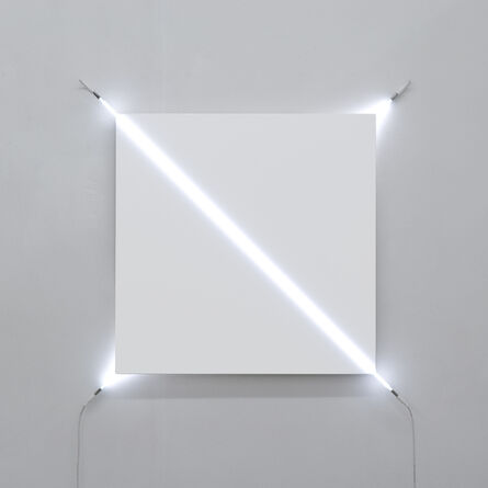 François Morellet, 'Sens dessus dessous n°2', 2013