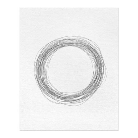 Ceal Floyer, 'Etching (at 45 rpm)', 2000