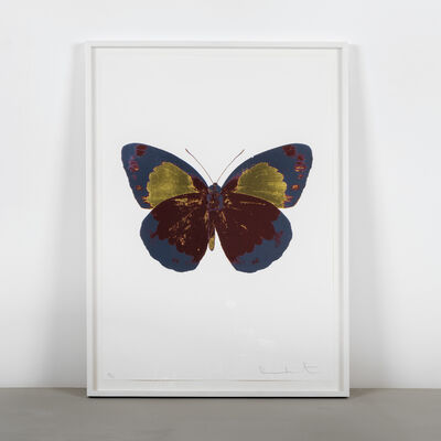 Damien Hirst, 'The Souls II - Chili Red - Frost Blue - Oriental Gold', 2010
