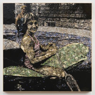Jane Hammond, 'Paddler', 2016