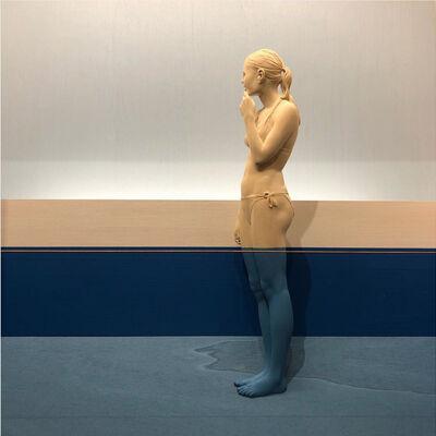 Peter Demetz, 'Girl in the Water II', 2019