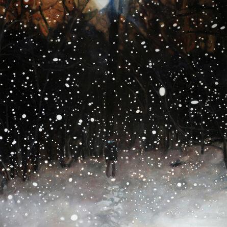 Jennifer Walton, 'Into the Woods on a Snowy Night', 2016