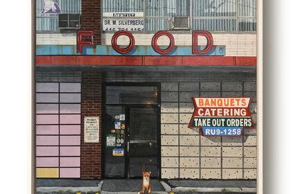 GHOST TOWN - twenty twenty in twenty paintings