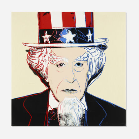 Andy Warhol, 'Rare Uncle Sam (from Myths)', 1981