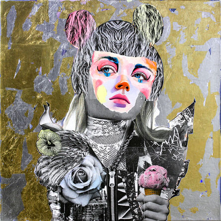 "AM DeBrincat, '""Ice Cream Gold Mine""', 2018"
