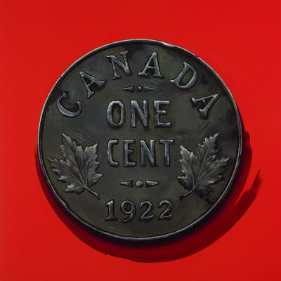 James Lahey, '1 Cent Portrait, 1922 (Made in Canada 3 – A Memoir)', 2019-2020