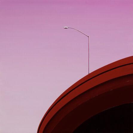 Cherie Benner Davis, 'Red Curve', 2017
