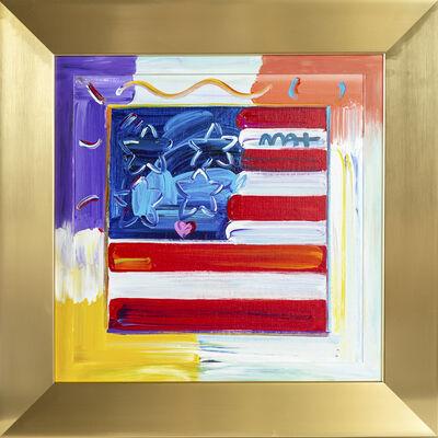 Peter Max, 'Flag', 2013