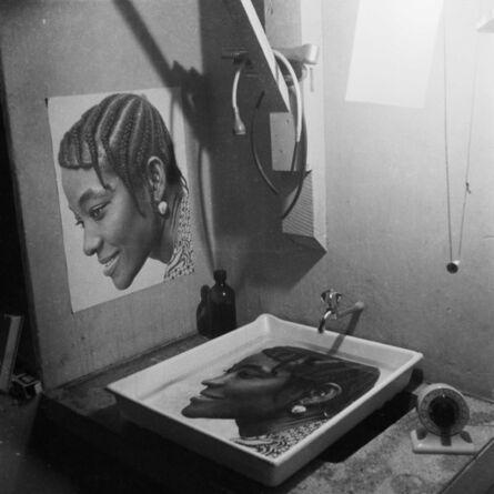 James Barnor, 'Print in progress, Studio X23, Accra, c. 1972', 2020