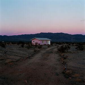 John Divola, 'N34°11.965'W115°54.308', 1995-1998