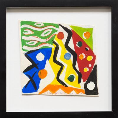 Kim MacConnel, 'Sketch for Cara Dos Mil', 1987