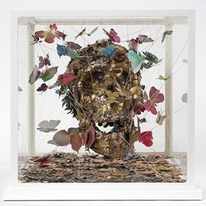 Jacky Tsai, 'Open Your Mind Skullpture I', 2015