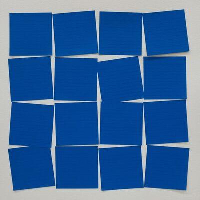 Mauro Piva, 'Post-itesquema (Azul)'