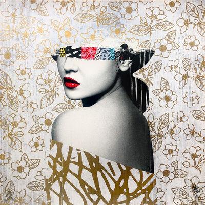 HUSH, 'Le Buste II Metallic Gold', 2021