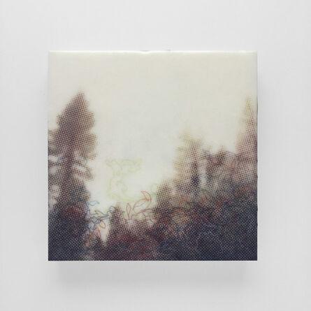 Karen Gallagher Iverson, 'Crest From Below, Tahoe Tree Line 6', 2017