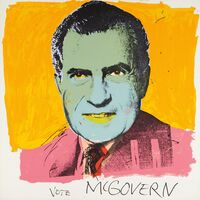 Andy Warhol, 'Vote McGovern', 1972
