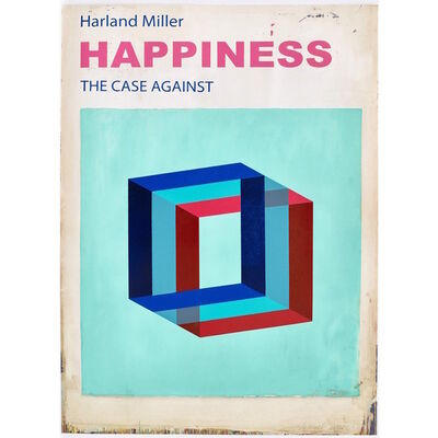 Harland Miller, 'Happiness: The Case Against (Small) - PP', 2017