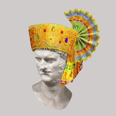 Cecilia Miniucchi, 'Roman Emperor Nero/Traditional Thai Hat', 2018