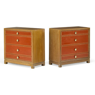 Tommi Parzinger, 'Pair of four-drawer dressers, Boston, MA', 1950s