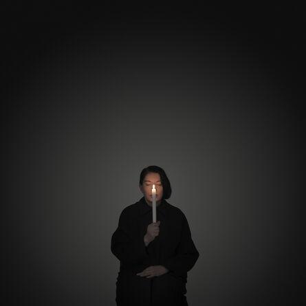 Marina Abramović, 'Artist Portrait with a Candle', 2012