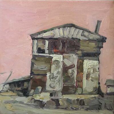 Hung Liu 刘虹, 'Duster Shack 4', 2019