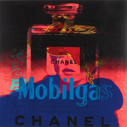 Andy Warhol, 'Ads: Chanel / Rebel / Mobil / Blackglama', 1985