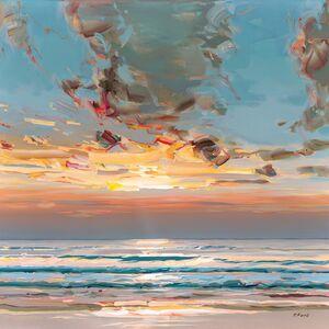 Josef Kote, 'A Bold Sunset', 2021