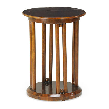 Josef Hoffmann, 'Side table, Budapest', early 1900s