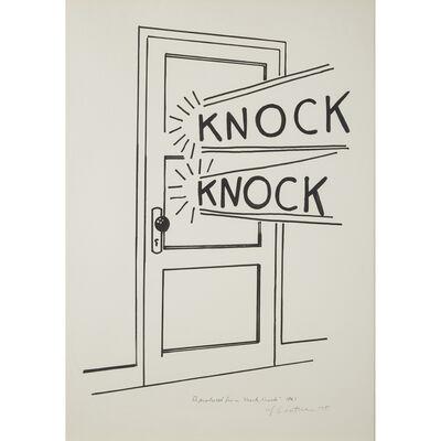 Roy Lichtenstein, 'Knock, Knock Poster', 1975