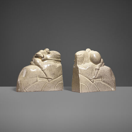 Marcel Guillard, 'Bookends, Pair', c. 1920