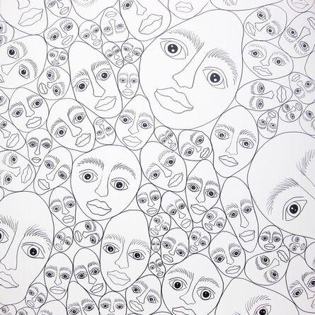 Elke Schmoelzer, 'Stonefaces – naked', 2011