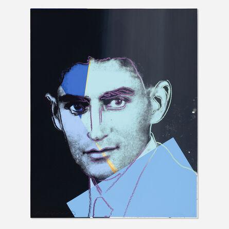 Andy Warhol, 'Unique Franz Kafka (from Ten Portraits of Jews of the Twentieth Century)', 1980