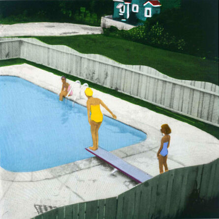 Isca Greenfield-Sanders, 'Yellow Suit Bather', 2006