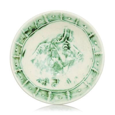 Pablo Picasso, 'Madoura Ceramic Bowl- Bol Tête de Taureau, Ramié 232', 1950-1959