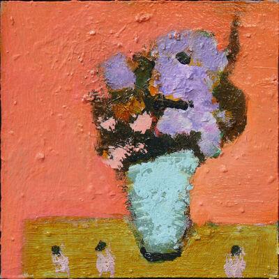 Jennifer Hornyak, 'Pale Blue with Coral', 2018