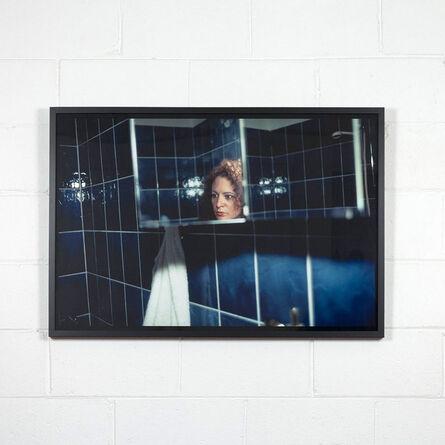 Nan Goldin, 'Self Portrait In My Blue Bathroom', 1991