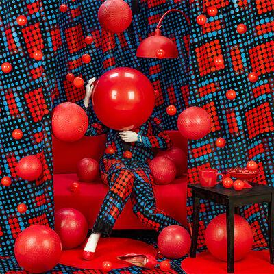 Patty Carroll, 'Red Balls', 2019