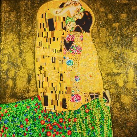 James Charles, 'The Kiss', 2015