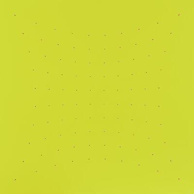 Tess Jaray RA, 'Many Moments - Acid Green', 2005