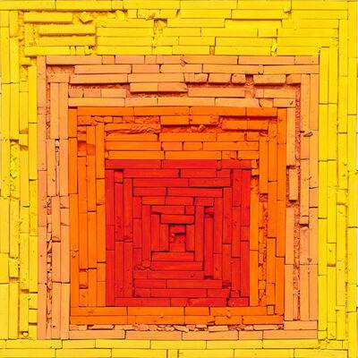 Vik Muniz, 'Metachrome (Homage to the Square: Glow, after Joseph Albers)', 2016