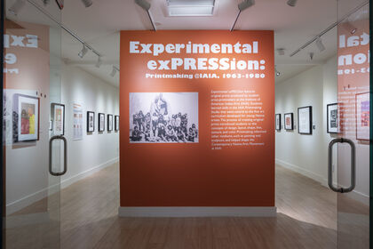 Experimental exPRESSion: Printmaking @IAIA, 1963-1980