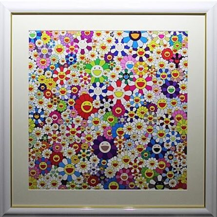 Takashi Murakami, 'If I Could Reach That Field Of Flowers, I Would Die Happy', 2010