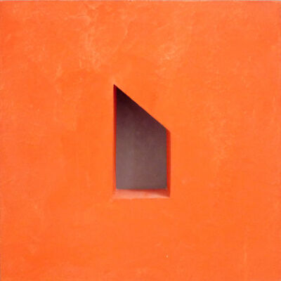 "John Carter, 'Maquette ""Cadmium Scarlet""', 1982"