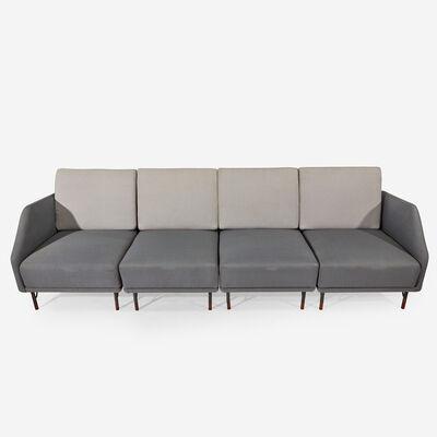 Finn Juhl, 'Four-piece Modular Sofa, Bovirke, Denmark', Circa 1953