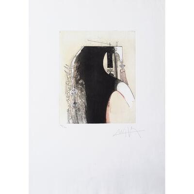 Wifredo Lam, 'Vingtième parallèle, planche 1', 1966
